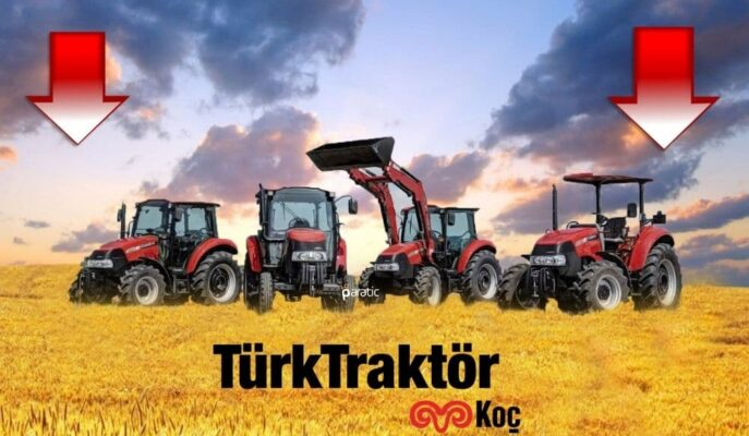 Türk Traktör Hisseleri Azalan Satışlarla Ekside Fiyatlanıyor