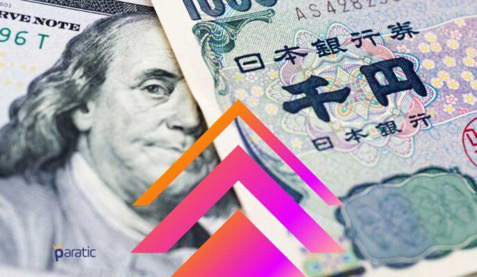 USD/JPY Paritesi 19 Ayın En Yüksek Seviyelerinde Geziyor