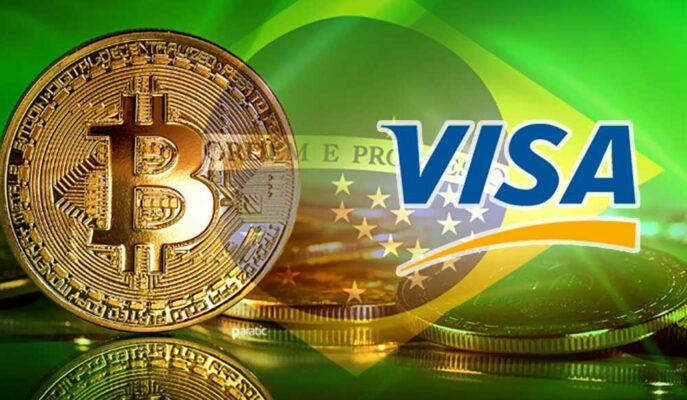Visa, Bitcoin Ödeme Hizmetini Brezilya'ya Getirebilir