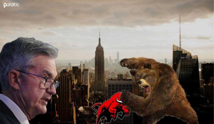Wall Street Artan Olumsuz Duyarlılıkla Negatif Bölgede Açıldı