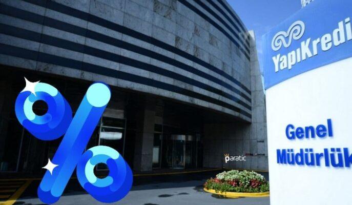 Yapı Kredi Bankası 24 Eylül Kupon Ödemelerinin Faiz Oranlarını Belirledi