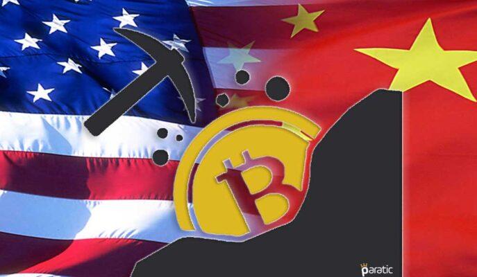 ABD Kripto Para Madencilik Pazarında Çin'in Önüne Geçti