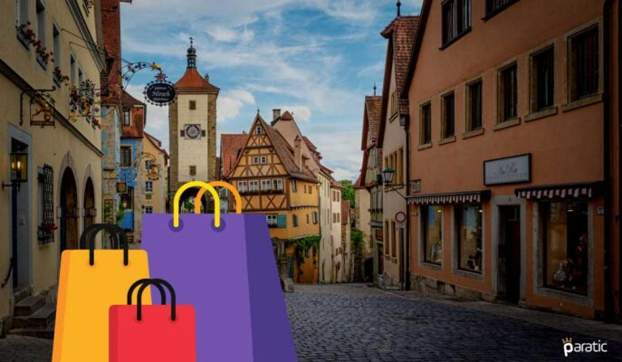 Alman Perakende Satışları Ağustos'ta %1,1 Arttı