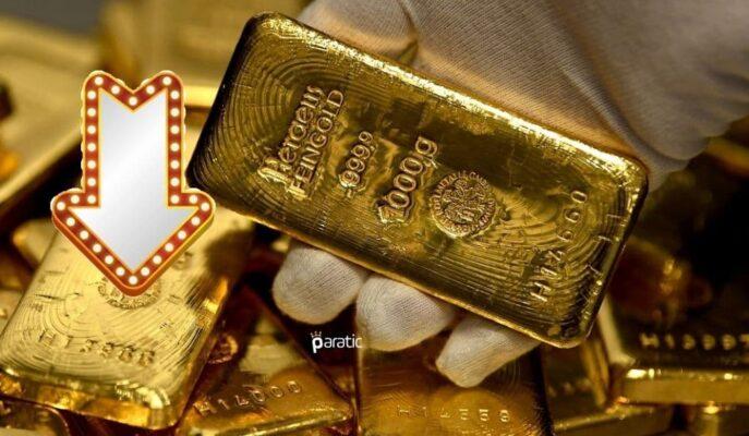 Altın Fiyatları ABD Tahvillerinin 4,5 Ayın Zirvesine Çıkmasıyla Geriledi