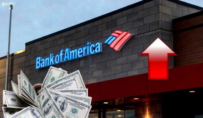 Bank of America 3Ç21'de Tahminleri Aşarken Hisseler Açılış Öncesi Yükseldi