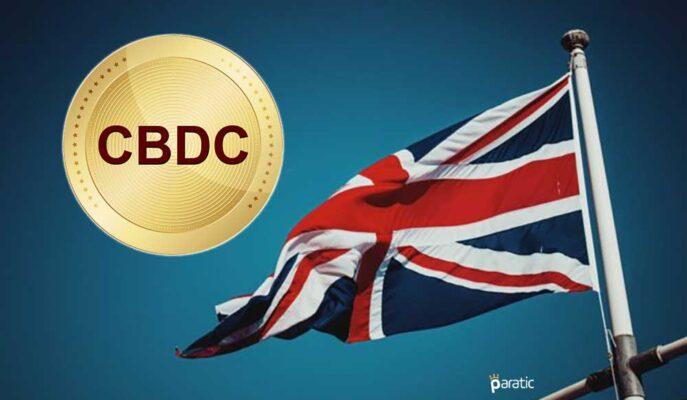 Birleşik Krallık'ta CBDC Teşviki için Çalışmalar Hız Kazandı