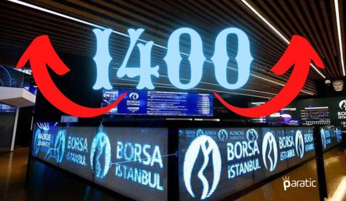 BIST 100 Endeksi ABD İstihdamı Sonrasında 1400 Puanın Üstünde