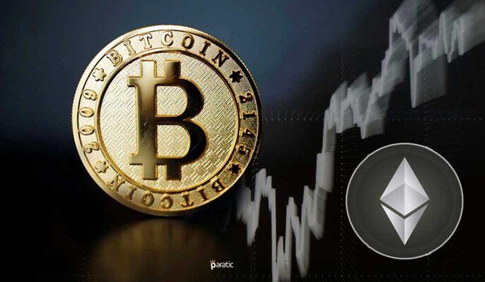 Bitcoin Yükselişini 51 Bin Doların Üzerine Taşırken Ethereum Yatay Seyrediyor