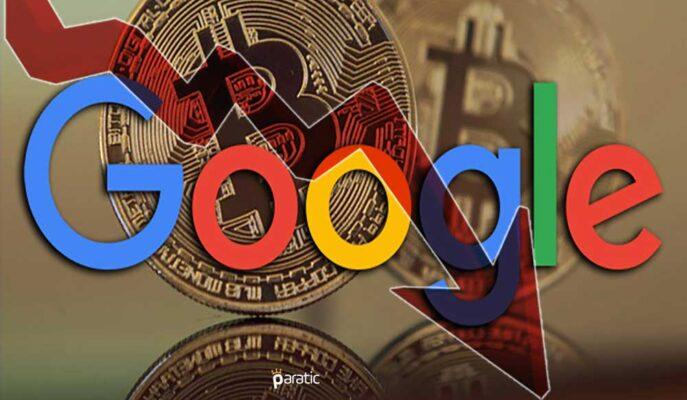 Bitcoin 55 Bin Dolara Çıkmasına Rağmen Google Arama İlgisi En Düşük Seviyelerde