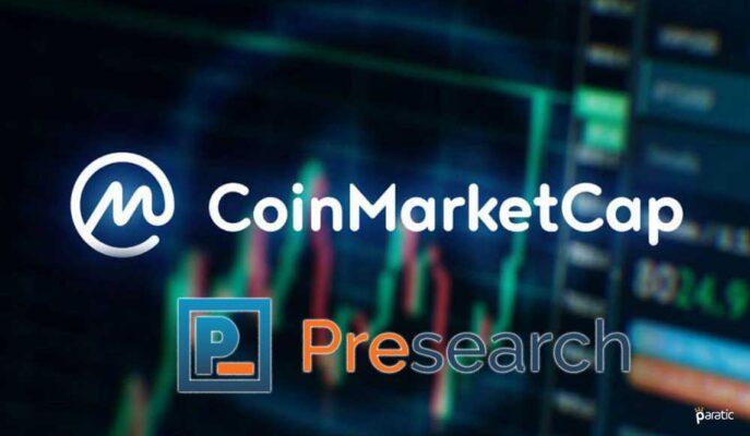 CoinMarketCap Verilerini Arama Motoru Presearch'e Entegre Ediyor