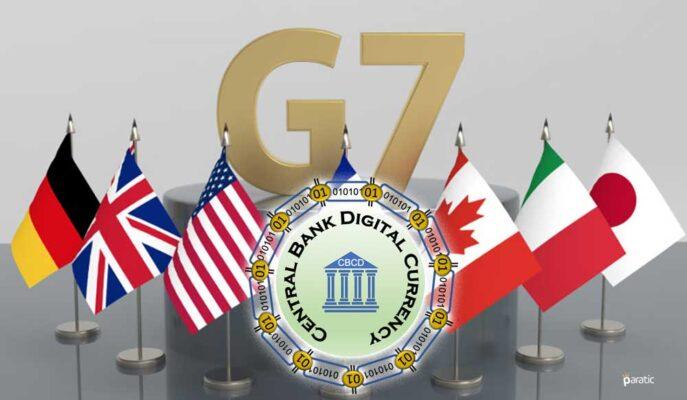 G7 Zirvesinde CBDC Yönergelerinden Övgüyle Bahsedildi