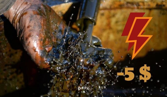 Ham Petrolün Varil Fiyatı Bir Günde 5 Dolara Yakın Geriledi