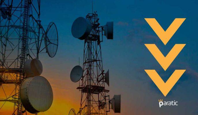 İletişim Endeksi, Türk Telekom ve Turkcell Hisse Performansıyla Düşüyor