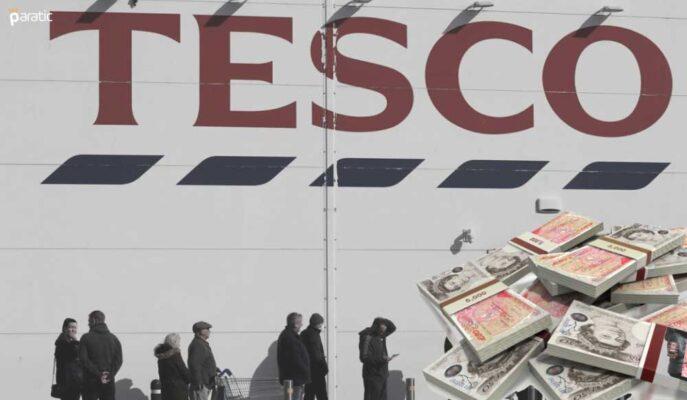 İngiliz Borsası Düşerken Tesco Hisseleri Yükseltilen Görünümle %5 Arttı