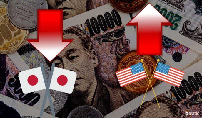 Japon Yeni Dolar Karşısında 3 Yılın En Zayıf Değerine Geriledi