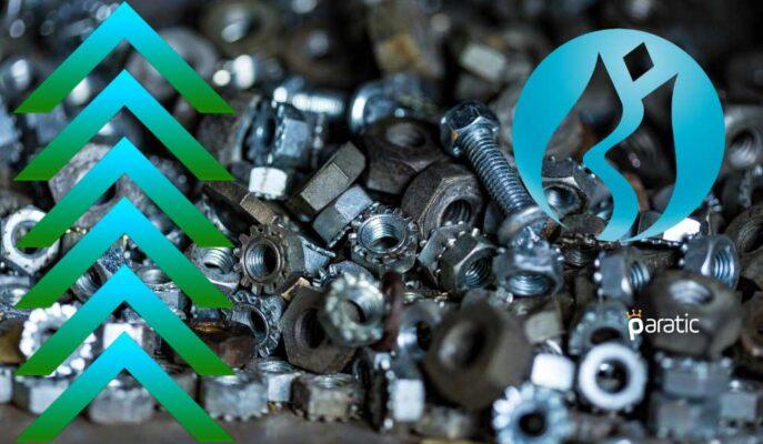 Metal Ana Endeksi %3,5 Yükselişle Bir Haftanın Zirvesine Yakın Seyrediyor