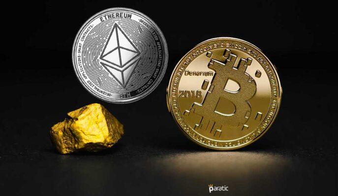 Milyaderler Bitcoin'i Altına Karşı Savunurken Ethereum'a Dikkat Çekti