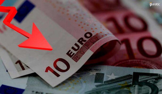 Negatif Fiyatlanan EUR/USD 14 Ayın Düşüklerinden Kurtulamıyor