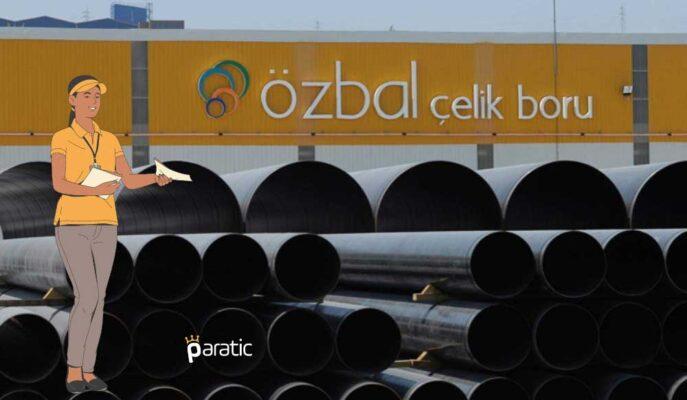Özbal Çelik Boru Hisseleri için Toptan Alım Satım Bildirimi Yapıldı
