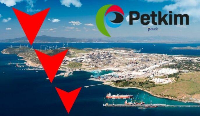 Petkim Petrokimya Hisselerinin Gün İçi Kaybı %7'yi Geçti