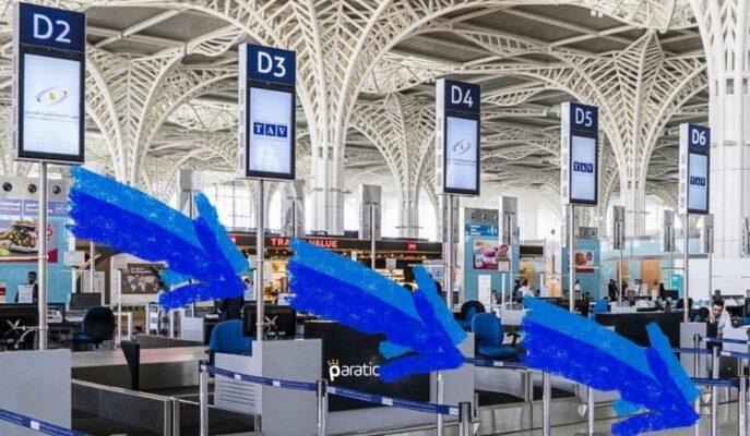 TAV Havalimanları Hisseleri %3 Gerilerken, Satışların Artması Bekleniyor