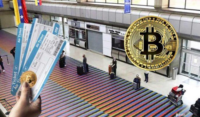 Venezuela'da Ulusal Havalimanı Bitcoin ile Ödeme Kabul Edecek