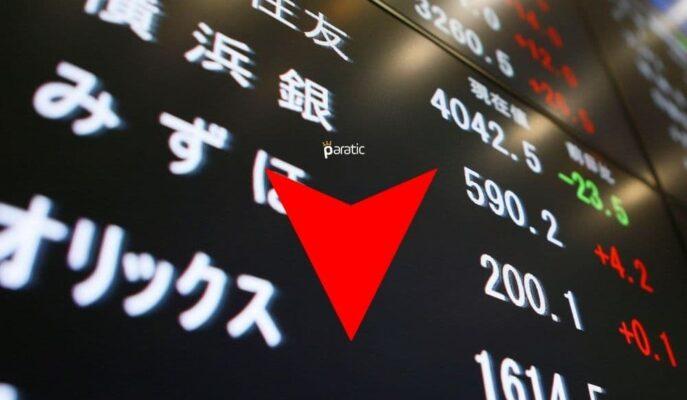 Yoğun Veri Ajandasını İzleyen Japonya Piyasaları Düşüş Gösterdi