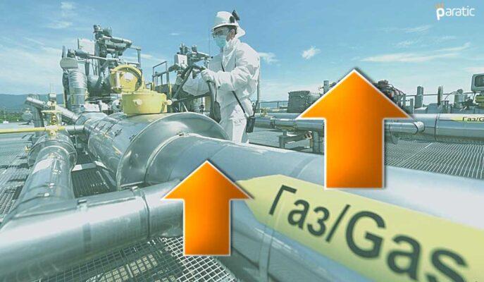 %3 Üzeri Artışla Fiyatlanan Doğal Gaz Yıllık %135 Yükseldi