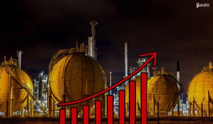 %3'ün Üzerinde Artan Doğal Gaz Zirveye Yakın Güçlü İlerliyor